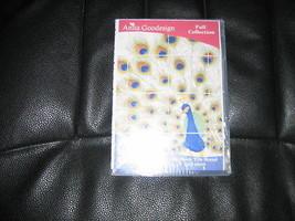 Anita Goodesign - Peacock Tile Scene 20 tiles multi format - $26.18