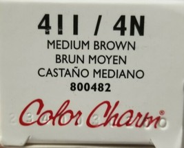 Wella COLOR CHARM Conditioning PERMANENT GEL HairColor 2 oz Medium Brown... - $8.59