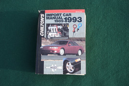 Chilton Import Car Manual 1989 1993 Acura to Volvo Large ISBN 0801979102... - $18.00