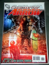 Comics - DC - BRIGHTEST DAY GREEN ARROW - ATTACK ON QUEEN TOWER! JAN '11 #6 - $8.00