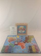 Parker Brothers 2003 Risk Continental Wood Box Nostalgia Series Board Game - $28.04