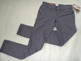 MUDD Skinny Stretch Jeggings-Houndstooth Legging Pant-Gray Black- 3 New $40 image 3