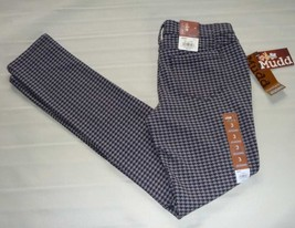 MUDD Skinny Stretch Jeggings-Houndstooth Legging Pant-Gray Black- 3 New $40 image 5