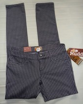 MUDD Skinny Stretch Jeggings-Houndstooth Legging Pant-Gray Black- 3 New $40 image 10