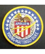 Round Apollo 16 Patch -- Freebie - Freebie