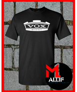 Vox Amp T-Shirt Amplifier Bass Guitar Electric Rock EI05 - $14.75