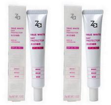 Shiseido ZA True White Day Protector Sunscreen Moisturizer SPF26+ PA++ 2pcs - $21.45