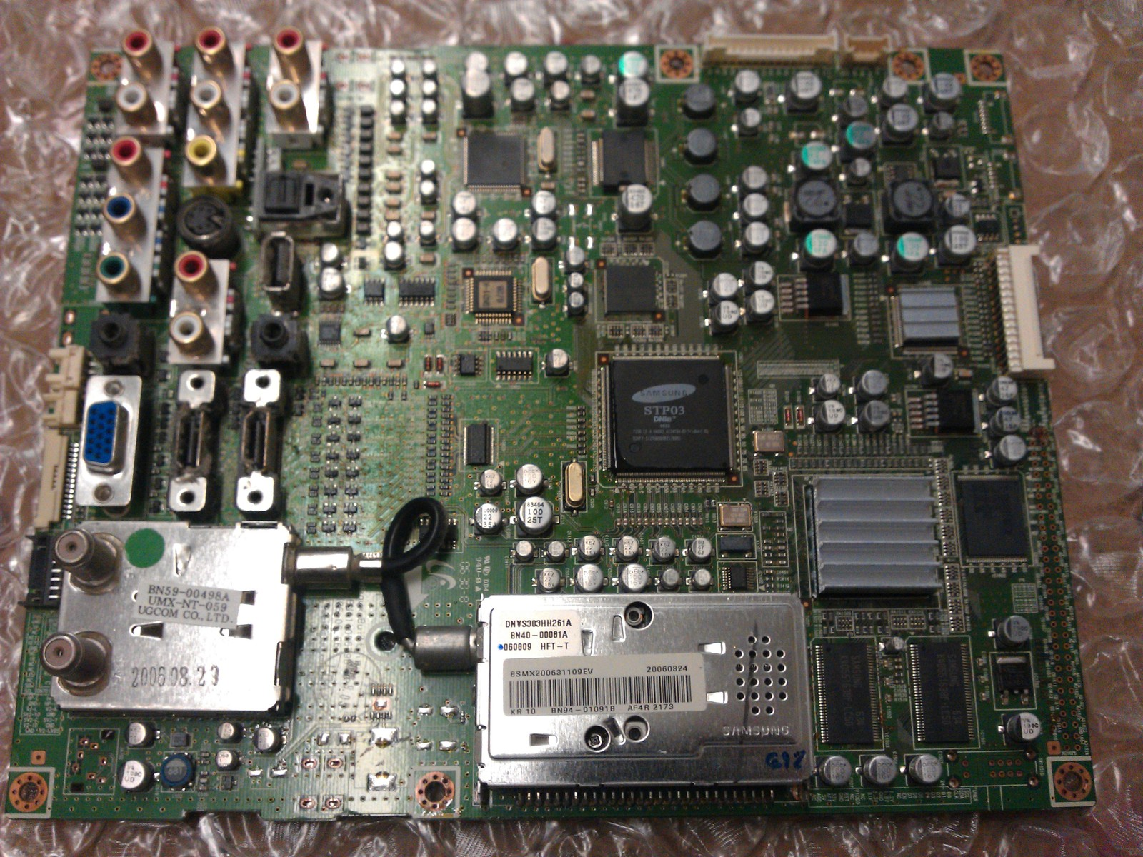 BN94-01091B Main Board From	SAMSUNG LNS4051DX/XAA LCD TV