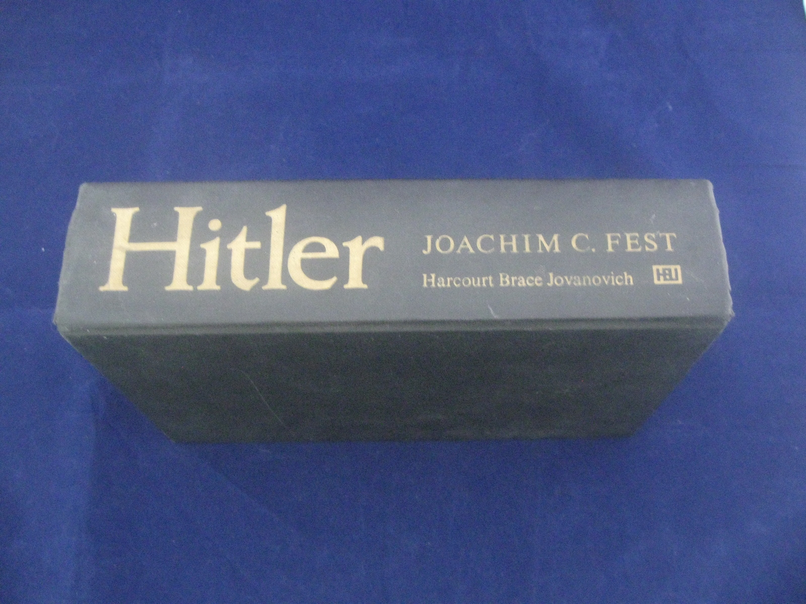 Hitler By Joachim C Fest Vintage Old 1974 History WWII Hardcover Book