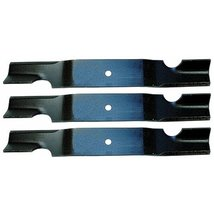 3 Pack - Stens 320-040 Notched Air-Lift Lawnmower Replacement Blade for Grass... - $49.99