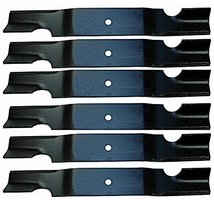 6 Pack - Stens 320-040 Notched Air-Lift Lawnmower Replacement Blade for Grass... - $55.99