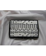 white double six New Dominoes Wh Large Size Poly-vinyl resin Free Shippi... - $29.95