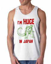141 I'm Huge in Japan Tank Top funny monster movie vintage 80s cult clas... - €11,49 EUR+