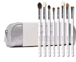 Morphe Jaclyn Hill Eye Master Piece Brush Collection Set Authentic W/Bag - $59.99