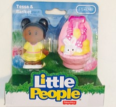 "Little People ""Tessa & Basket"" [Easter ~ Brand New] - $14.50"