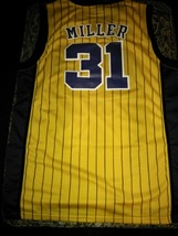 Indiana Pacers Reggie Miller #31 STITCHED High Quality Retro Hardwood Cl... - $22.95