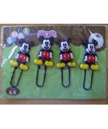 NIP/NWOT/2 SETs OF 4/DISNEY/MICKEY MOUSE/CARTOON/CHARACTER/PAPER CLIPS/B... - $10.00