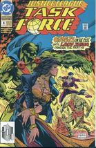 JUSTICE LEAGUE TASK FORCE #4 NM! - $1.00