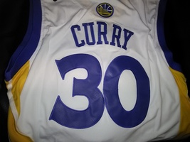 Stephen Curry Golden State Warriors Stitched Jersey #30 High Quality New... - $22.95