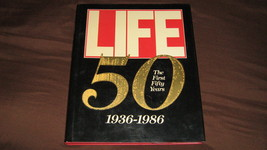The First Fifty  ( Life Magazine ) 1936 thru 1986 National and World Eve... - $40.00