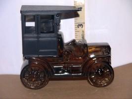 Vtg. Avon Reo Depot Wagon Cologne Glass Car Decanter Bottle w/Oland Afte... - $10.88