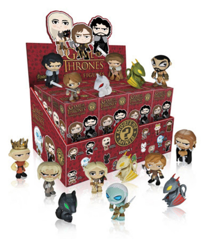Primary image for Game of Thrones Series 1 Mystery Minis Trading Figure (1 Random Blind Box) *NEW*