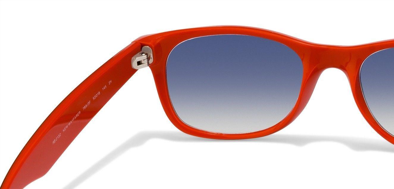 15d5134ff55 Nuevo Ray-Ban Wayfarer RB 2132 789 3F Azul   Naranja con   Celeste