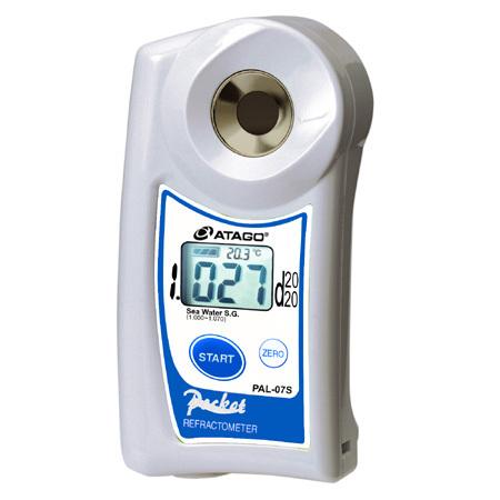 Atago PAL-7S Digital Salinity Refractometer 4 Aquariums