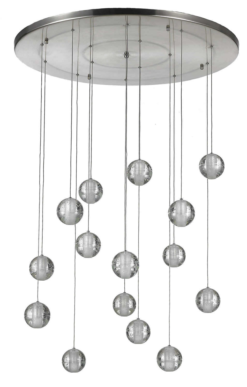 "Primary image for AM6808: ""Meteor Shower"" Chandelier By Bocci (14""-30"" W & Up to 12 Ft.L) $1,155+"