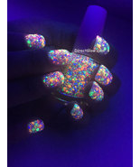 Polish Me Silly UV Blacklight Reactive Neon Glitter Nail Polish- Funfetti - $12.50