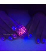 Color Changing UV Blacklight Thermal Nail Polish- Dreaming in Pink - $13.50