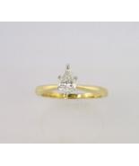 Pear Shape Diamond Engagement Ring - $1,425.00