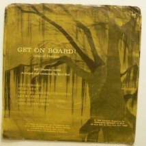 "GET ON BOARD! Songs of Freedom 1968 7"" Spirituals / Slavery History 6 tr... - $9.65"