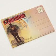 CLAREMORE, OKLAHOMA - old souvenir folder / 14 x postcard style VGC Will... - $13.37