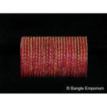 BangleEmporium Chamak Collection 48 Ethnic Indian Bangles Belly Dance Bracelets  - $24.99
