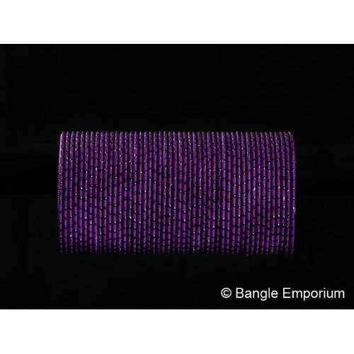 Primary image for BangleEmporium Twilight collection Ethnic Indian Dark Purple Wedding Bridal Boll