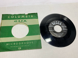 "45 RECORD 7""- MILLS BROTHERS - DADDY'S LITTLE GIRL Decca - $6.67"