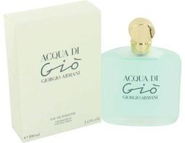 Giorgio Armani Acqua Di Gio 3.4 Oz Eau De Toilette Spray image 1