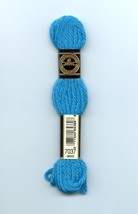 DMC Tapestry Embroidery Wool 8 m. skein Parrot Blue 7037 077540653898 NEW - $1.77