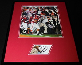 Coach Nick Saban Signed Framed 16x20 Photo Set Alabama Taking the Field - $280.49