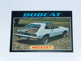 1976 Topps Autos of 1977 #49 Mercury Bobcat Card VGEX Condition - $13.93