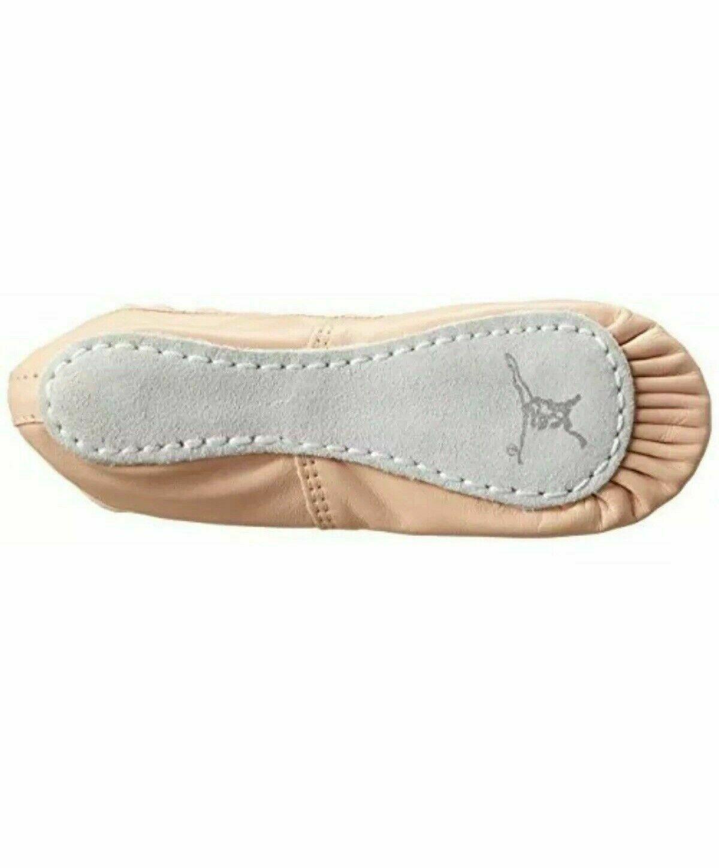 Capezio Adult Teknik 200 NPK Pink Full Sole Ballet Shoe Size 9C 9 C