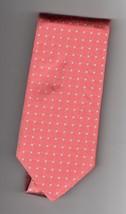 Brooks Bothers Silk Red Geometric Pattern Mens Tie - $22.50