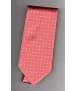 Brooks Bothers Silk Red Geometric Pattern Mens Tie - $22.50