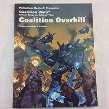 Palladium RPG RIFTS Coalition Wars Overkill Tolkeen Two Coffin Siembieda... - $12.86