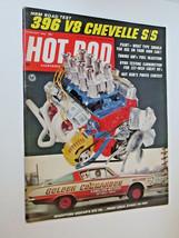 Vintage Hot Rod Magazine February 1966 396 V8 Chevelle S/S HRM ROAD TEST - $8.00