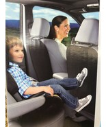 Car Seat Back Cover, Kick Mat, Protector for Kids, Universal Fit, Black. - $17.81