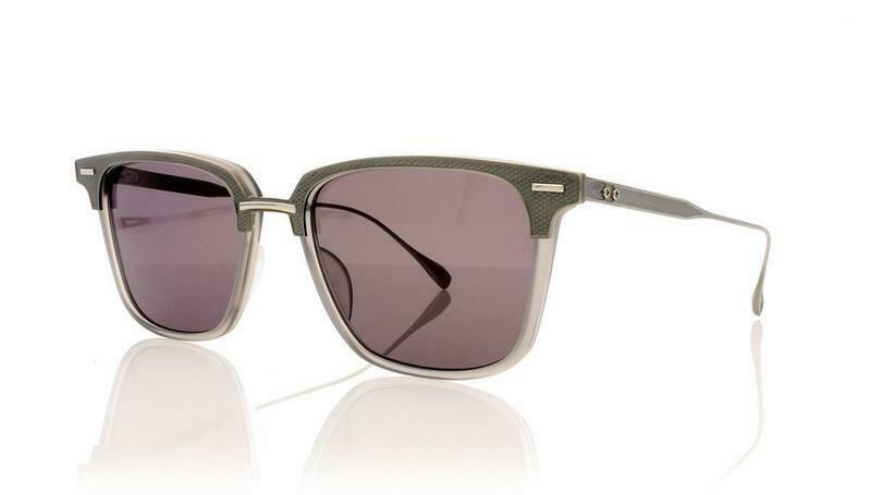 DITA OAK DRX2085 AT Silver Grey Titanium Luxury Mirrored Sunglasses  Unisex
