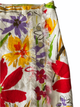 Dolce & Gabbana Charcoal Women Skirt Made in Italy White Red Yellow Orange Small image 2