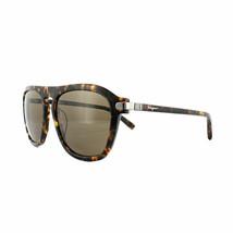 Salvatore Ferragamo Sonnenbrille SF786S 214 Havanna Braun Authentisch - $87.21
